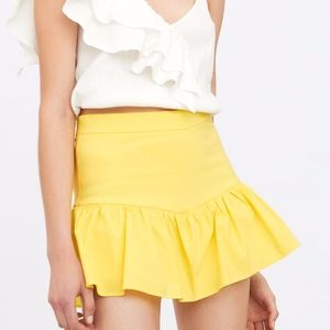 Yellow Zara Skort (unworn)